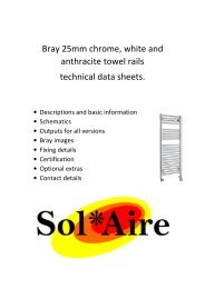 Page 1 technical data sheet