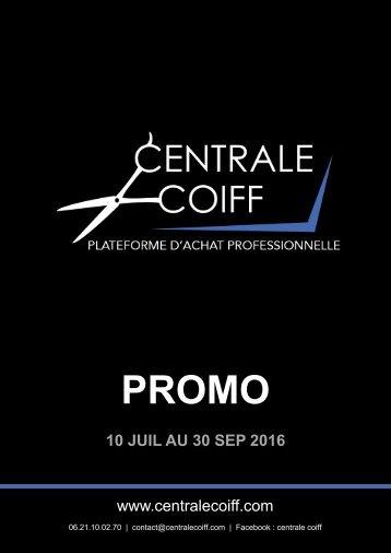 Central Coiff Magazine promo