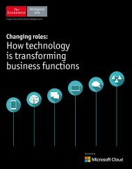 How technology is transforming business functions
