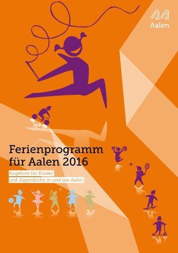 Ferienprogramm 2016