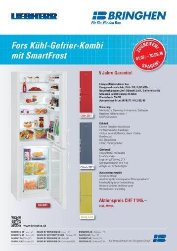 BRINGHEN AG Visp: Kühle Aktion für heisse Tage!