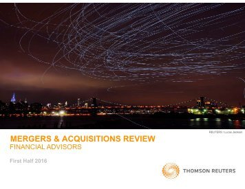 MERGERS & ACQUISITIONS REVIEW