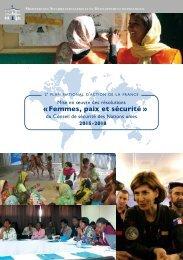 « Femmes paix et sécurité »