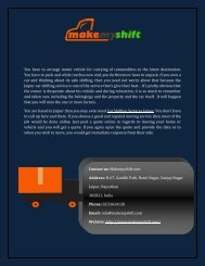 Best Online Car Shifting Services In Jaipur