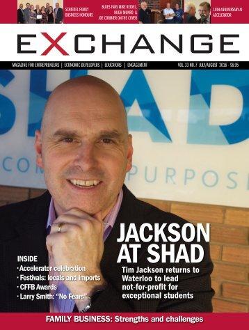 JACKSON AT SHAD