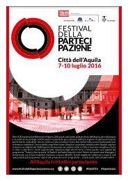 Città dell'Aquila 7-10 luglio 2016