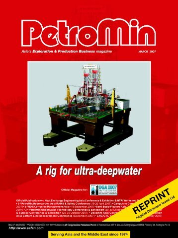 A rig for ultra-deepwater
