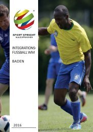 Integrationsfussball-WM Baden 2016