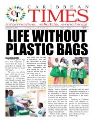 Caribbean Times 43rd Issue - Monday 4th July 2016