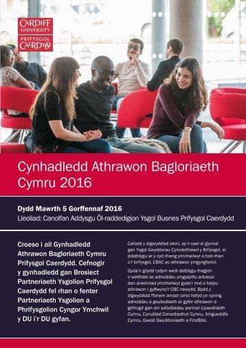 Cymraeg Welsh Bacc Conf Prog 2016