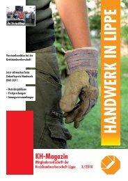KH-Magazin - Kreishandwerkerschaft Lippe