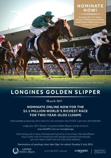 LONGINES GOLDEN SLIPPER