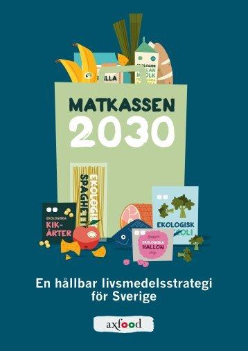 En hållbar livsmedelsstrategi för Sverige