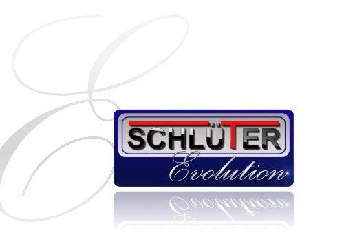Schlüter Evolution Großküchengeräte