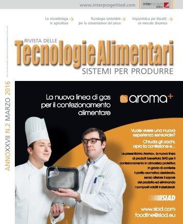 Tecnologie alimentari 2 2016