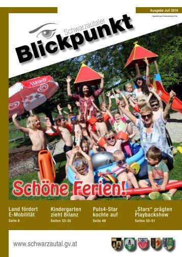 Blickpunkt 2. Ausgabe 2016