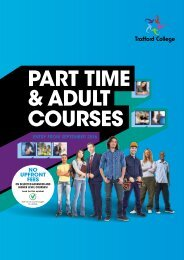 PART TIME & ADULT COURSES