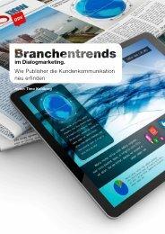 im Dialogmarketing Wie Publisher die Kundenkommunikation neu erfinden