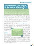 Sint-Huibrechtsstraat Gezondheidsinfo - Page 7