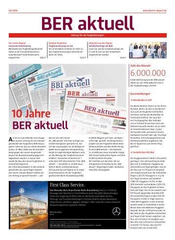 BER aktuell 07/2016