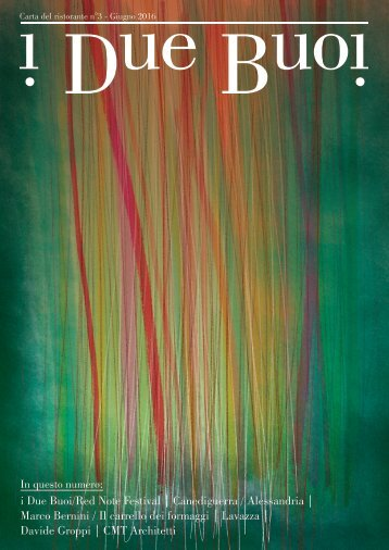 I Due Buoi - Magazine #3