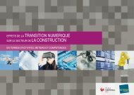 TRANSITION NUMERIQUE LA CONSTRUCTION