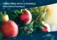 CHRISTMAS WITH A SPARKLE