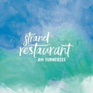 Ilsenhof Strandrestaurant Speisekarte 2016