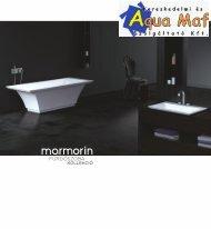 Marmorin fürdőszoba szaniter katalógus 2015