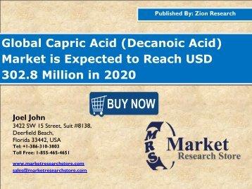 Capric Acid Market