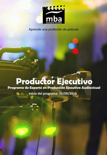 Productor Ejecutivo