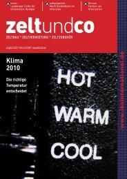 Klima 2010 - zelt und co
