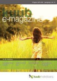 Kuub e-magazine #22 | juli 2016