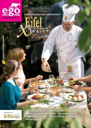 "ego Magazin Bitburg - Sonderausgabe ""Eifel eXclusive"""