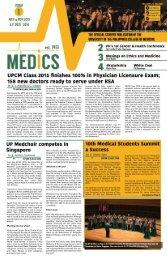 UP Medics May to November 2015 Issue