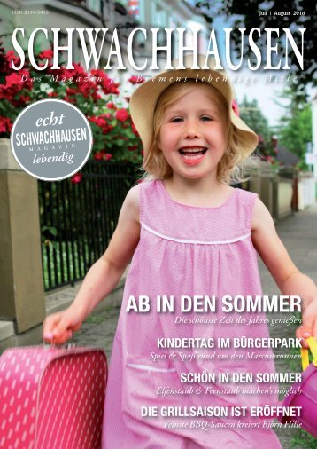 SCHWACHHAUSEN Magazin | Juli-August 2016