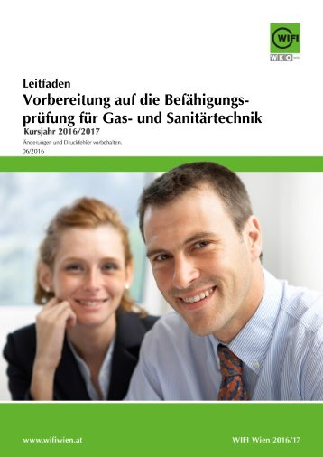 Leitfaden: Vorbereitung auf die Befähigungsprüfung für Gas- und Sanitärtechnik