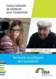 Territoires et politiques de l'autonomie
