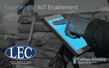 Experienced IIoT Enablement