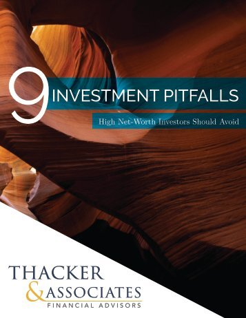 9 Investment Pitfalls High Net-Worth Investors Should Avoid