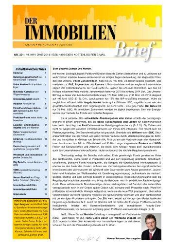 Grundstückswert in Windparknähe - Der-Immobilienbrief-Nr-321