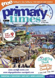 Primary Times Cardiff Summer 2016