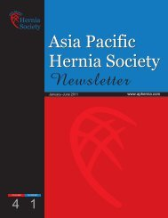 Jan-June 2011 - Asia Pacific Hernia Society