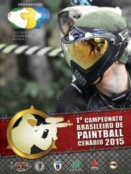 1º Campeonato Brasileiro de Paintball Cenário 2015