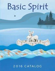 Basic Spirit Catalog 2016