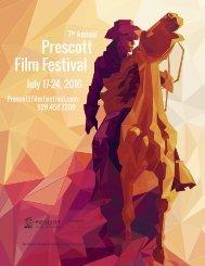 2016 Prescott Film Festival Booklet