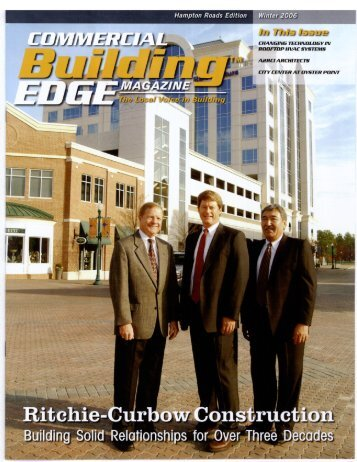Building Edge Magazine - Ritchie Curbow Construction, Inc.