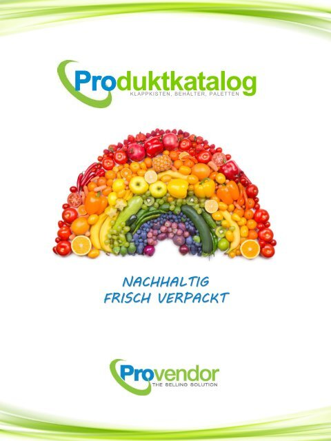 Produktkatalog Provendor GmbH