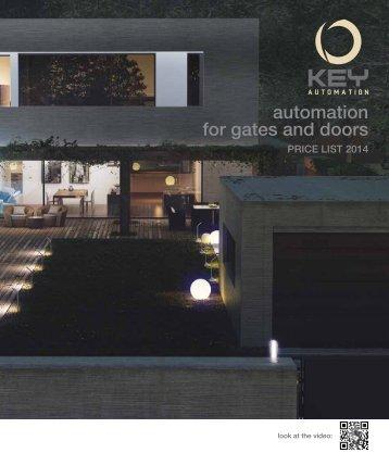 Catalog Key Automation | 2014
