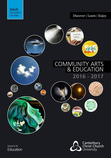 COMMUNITY ARTS & EDUCATION
